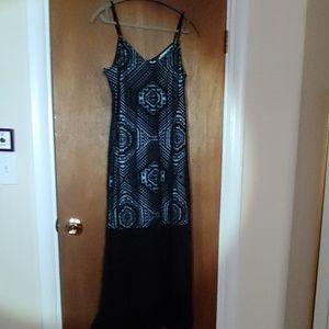 Semi-sheer Maxi-dress